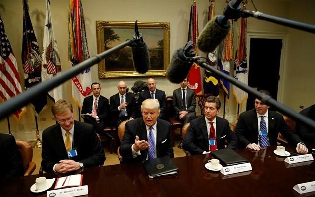 ΗΠΑ: Ο Τραμπ υπέγραψε την αποχώρηση από την εμπορική συμφωνία ελεύθερου εμπορίου TPP