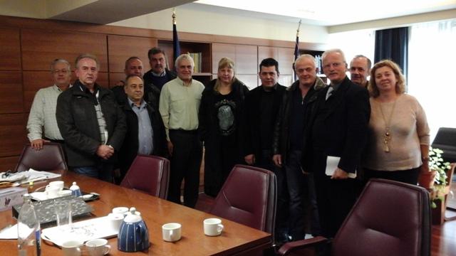 Συνάντηση Γ. Τσιρώνη με το Δ.Σ. της ΟΜΣΕ