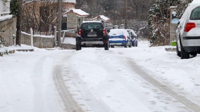 Επιμένει το τσουχτερό κρύο στη Β. Ελλάδα εν αναμονή του «Τηλέμαχου», -17 βαθμοί στο Νευροκόπι