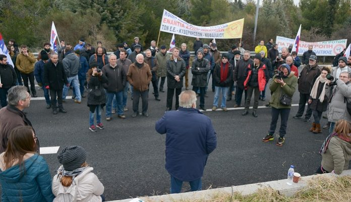 Στο πλευρό των αγροτών στη Νίκαια το εργατικό κίνημα