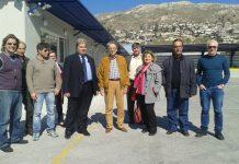 Επίσκεψη Αντώνογλου, στις κτιριακές εγκαταστάσεις που παραδίδονται στις αρμόδιες υπηρεσίες του ΥπAAT.