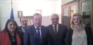 Αποζημιώσεις ΠΣΕΑ και το Φράγμα «Λιβαδότοπος» στο επίκεντρο της συνάντησης Κόκκαλη και δημάρχου Τεμπών