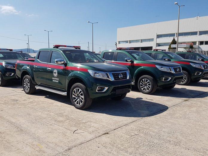 Oι Δασικές Υπηρεσίες ενισχύουν τις δυνάμεις τους με Nissan ΝAVARA