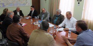 Σύσκεψη στον Έβρο με την συμμετοχή του αναπληρωτή ΥΠΑΑΤ Γ. Τσιρώνη