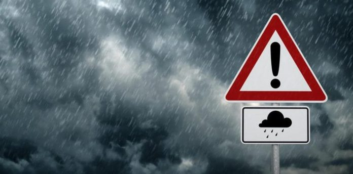 Ισχυρές βροχές και καταιγίδες σε όλες τις περιοχές της χώρας και τις επόμενες ημέρες
