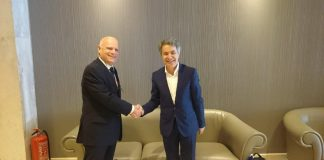 Συνάντηση Χ. Κασίμη με τον αν. Γενικό Διευθυντή Εξωτερικού Εμπορίου του υπουργείου Γεωργίας του Ισραήλ