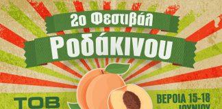 Βέροια: Έρχεται το 2o Φεστιβάλ Ροδάκινου