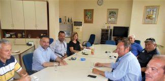 Επίσκεψη του βουλευτή Γιώργου Κατσιαντώνη Οινοποιητικό Συνεταιρισμό Τυρνάβου