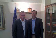 Συνάντηση Κόκκαλη με τον Δήμαρχο Τρικκαίων