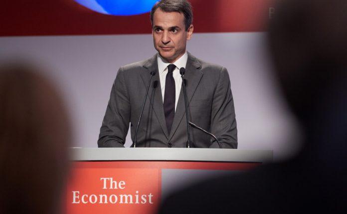 Μητσοτάκης στο Economist: Πρέπει επίσης να ενθαρρύνουμε τη σύσταση ομάδων ανά προϊόν