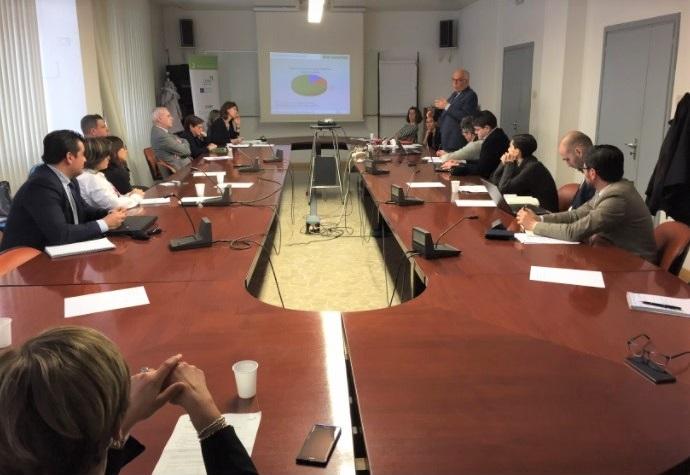 Ολοκληρώθηκε η 2η συνάντηση του έργου HIGHER για έργα υψηλής καινοτομίας στις περιφέρειες