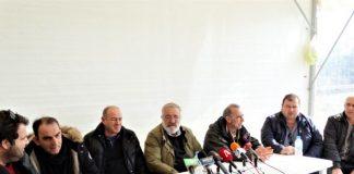 H Πανελλαδική Επιτροπή των μπλόκων συμπαρίσταται στους συμβασιούχους των ΟΤΑ
