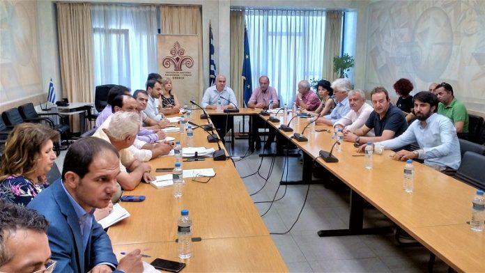Σύσκεψη στην Κομοτηνή υπό τον πρόεδρο του ΕΛΓΑ Θ. Κουρεμπέ