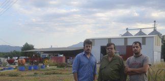 Γιάννης Καλογερόπουλος, κτηνοτρόφος στη Μεγαλόπολη