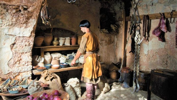 Η διατροφή των Ελλήνων στα Βυζαντινά Χρόνια