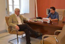 Συνάντηση Γ. Τσιρώνη - Χ. Λυσίκατου στο Λεωνίδιο (vid)