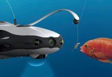 Υποβρύχιο drone ο «καλύτερος φίλος» των ψαράδων