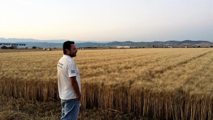 Χρήστος Γκότσικας, νέος αγρότης απο το Κιλκίς