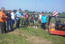 Με πρακτική άσκηση συνεχίζετε η εκπαίδευση των Νέων Αγροτών – Κτηνοτροφών στην Π.Ε. Πιερίας