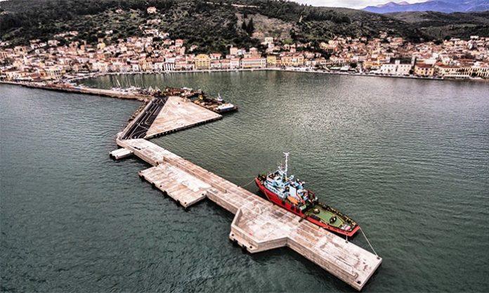 Πραγματοποιήθηκαν για τα εγκαίνια στο νέο λιμάνι του Γυθείου