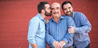 Συνάντηση γενεών: Ο Κωνσταντίνος, ο Ιωάννης και ο Νικόλας Αράπης