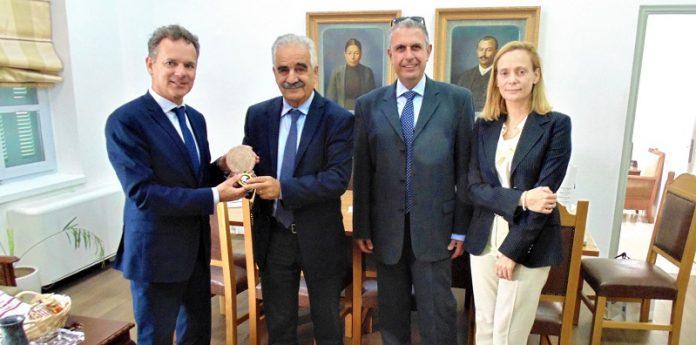 Επίσκεψη Ολλανδού Πρέσβη στη Περιφέρεια Κρήτης