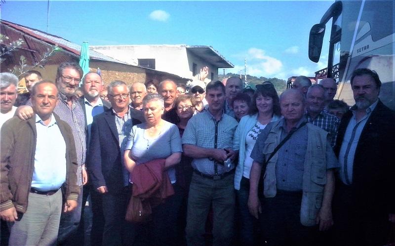 Επίσκεψη Πολωνών και Λιθουανών μελισσοκόμων στην Πιερία
