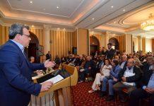 Φάμελλος στη Λάρισα: Στη Θεσσαλία έχουμε πολύ υψηλό κόστος στην καλλιέργεια και απώλεια 60% στα δίκτυα άρδευσης