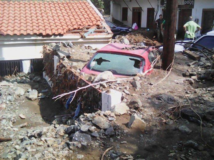 Αγώνας δρόμου στην Σαμοθράκη μετά τις πλημμύρες