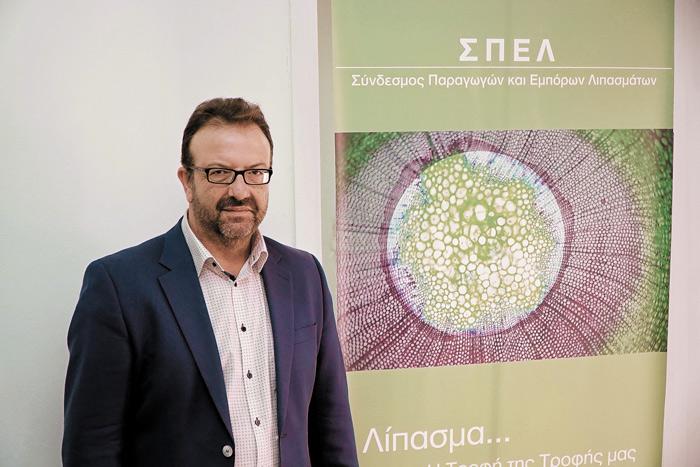 Ο πρόεδρος του Συνδέσμου Παραγωγών και Εμπόρων Λιπασμάτων (ΣΠΕΛ), Νίκος Κουτσούγερας.
