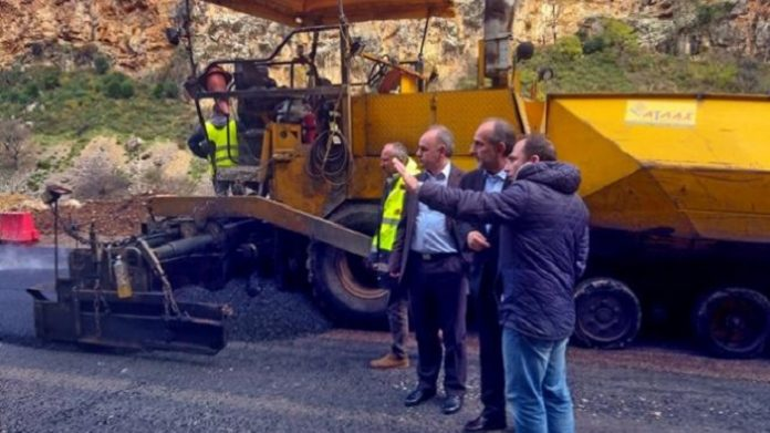 Αποκαταστάθηκε η οδική σύνδεση στην εθνική οδό Αντιρρίου - Ιωαννίνων