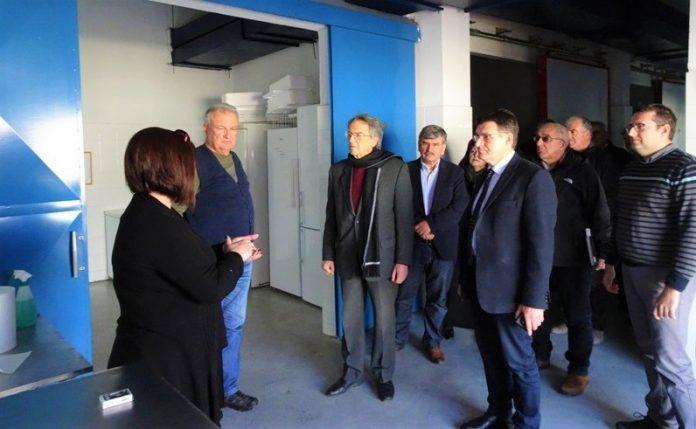 Επίσκεψη Αντώνογλου σε σημεία εισόδου/εξόδου αγροτικών προϊόντων στη Β. Ελλάδα