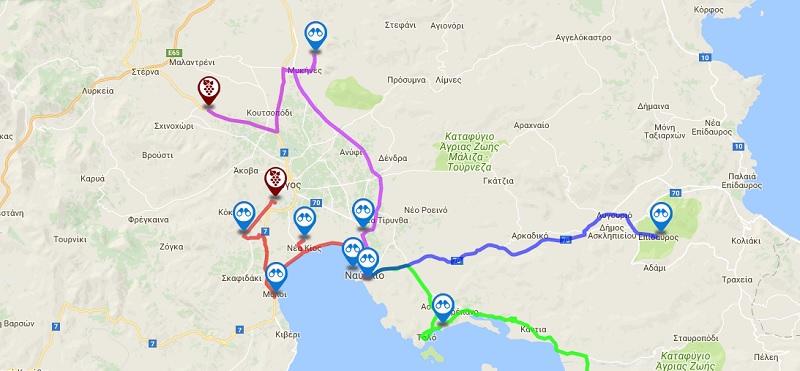 Επτά μαγικοί δρόμοι θα σας οδηγήσουν στους αρχαιότερους αμπελώνες της Πελοποννήσου