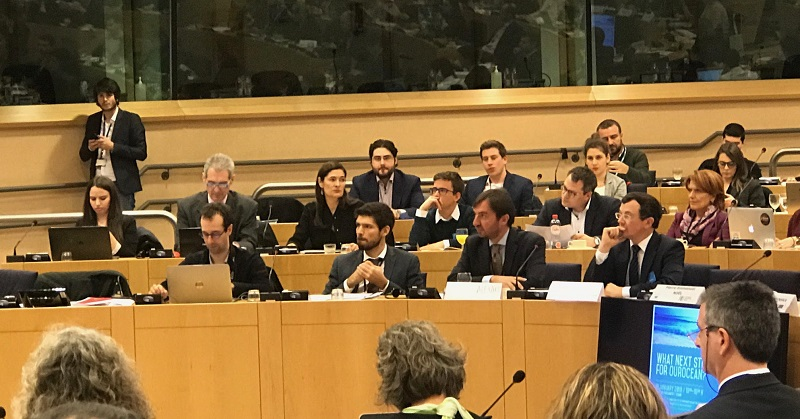 Σε Ευρωπαϊκό συνέδριο στις Βρυξέλλες για τις θαλάσσιες πολιτικές η ΠΕ Κρήτης