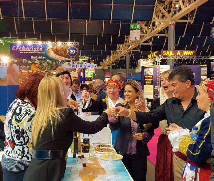 H ΠΕ Κρήτης προβάλλει τον τουρισμό και την γαστρονομία του νησιού στην Ολλανδία