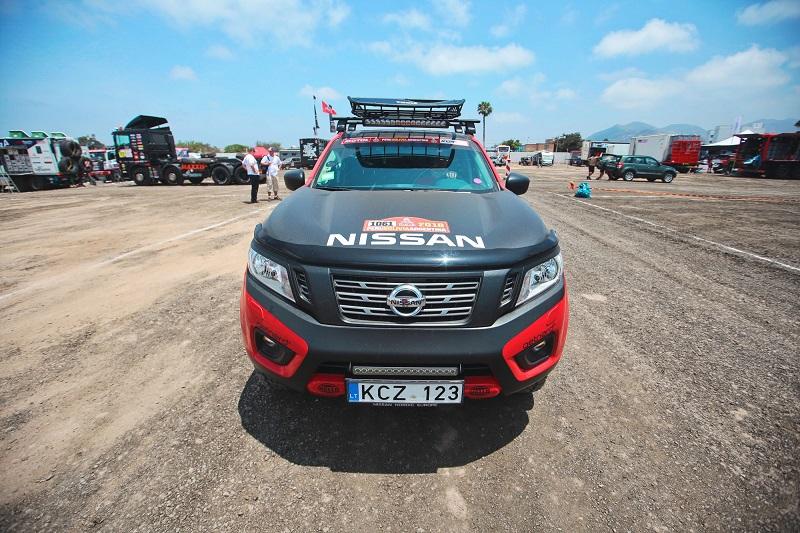 Το Nissan NAVARA στο Ράλι Ντακάρ