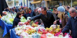 Πρόγραμμα στήριξης πολύτεκνων οικογενειών μέσα από λαϊκές αγορές