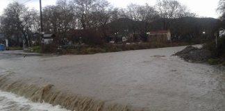 Λάρισα: Πλημμύρισαν σπίτια στα παράλια του Δήμου Αγιάς