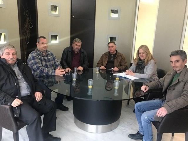 """Συνάντηση της Αντιπεριφερειάρχη Λακωνίας με μέλη του ΑΣ Αμυκλών Σπάρτης """"Λακωνία"""