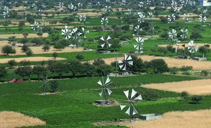 Χρηματοδότηση 13 εκατ. ευρώ στο Οροπέδιο Λασιθίου για αρδευτικά δίκτυα