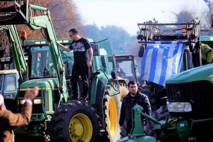 Τρακτέρ κατέκλυσαν το κέντρο της Θεσσαλονίκης (Βίντεο)