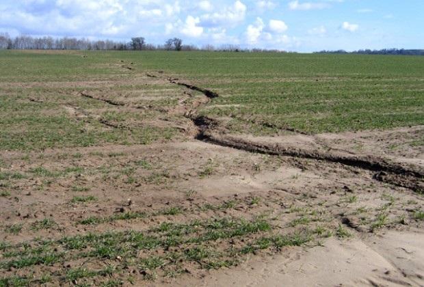 Το 11% της γεωργικής έκτασης της Ελλάδας κινδυνεύει από σοβαρή διάβρωση