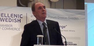 Για εξοικονόμηση ενέργειας μίλησε ο Γ. Σταθάκης στο Επιχειρηματικό Φόρουμ Ελλάδας-Σουηδίας