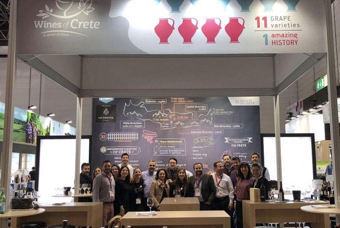 Οι Οινοποιοί της Κρήτης στη Διεθνή έκθεση κρασιού PROWEIN στη Γερμανία