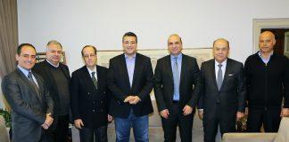 Συναντήσεις με τα νέα προεδρεία ΕΒΕΘ και ΒΕΘ είχε ο Απ. Τζιτζικώστας