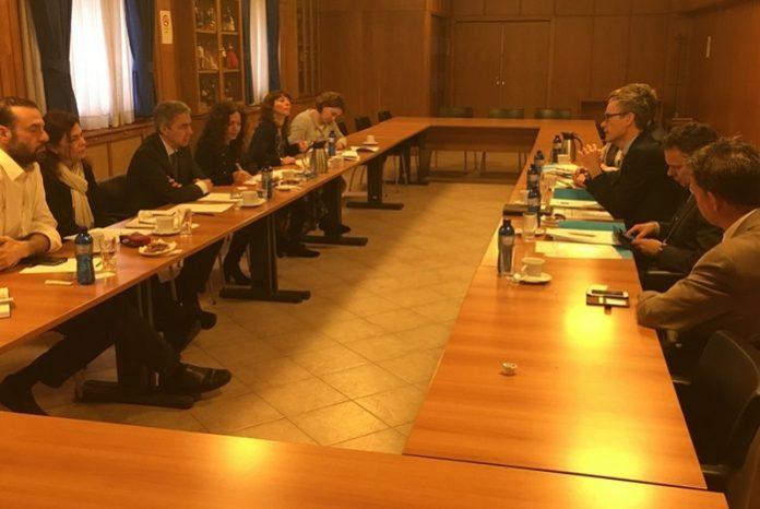Συνάντηση Κασίμη με Ολλανδική αντιπροσωπεία στο Υπουργείο Αγροτικής Ανάπτυξης