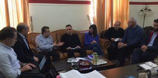Συνάντηση Αρναουτάκη με στελέχη της Google για την προβολή της Κρήτης