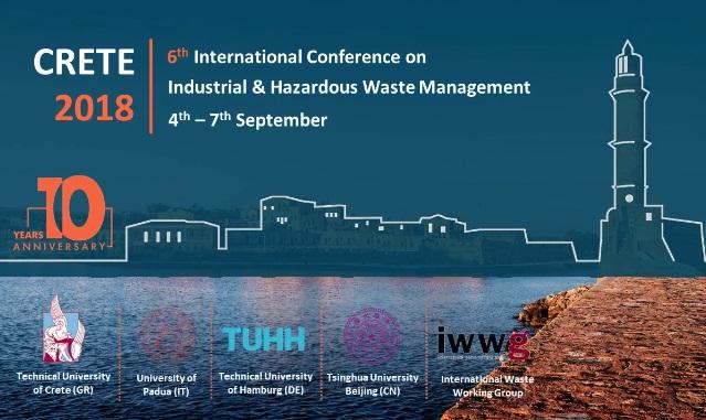 Τον Σεπτέμβριο το 6ο Διεθνές Επιστημονικό Συνέδριο CRETE 2018 στα Χανιά