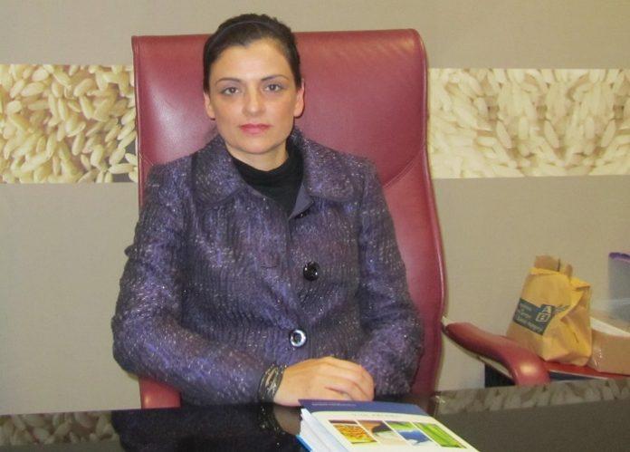 Η Γεωργία Κωστηνάκη πρόεδρος του νεοπαγούς Συνδέσμου Ορυζομύλων (Ελλάδας)