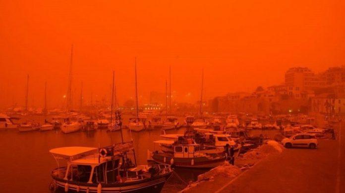 Κρήτη: Υπερβάσεις αιωρούμενων σωματιδίων λόγω Αφρικανικής σκόνης τις επόμενες ημέρες